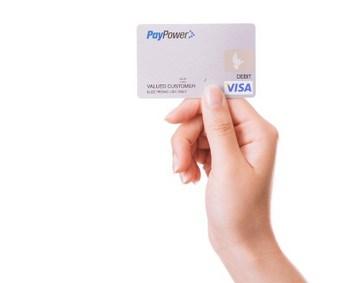クレジットカードと手